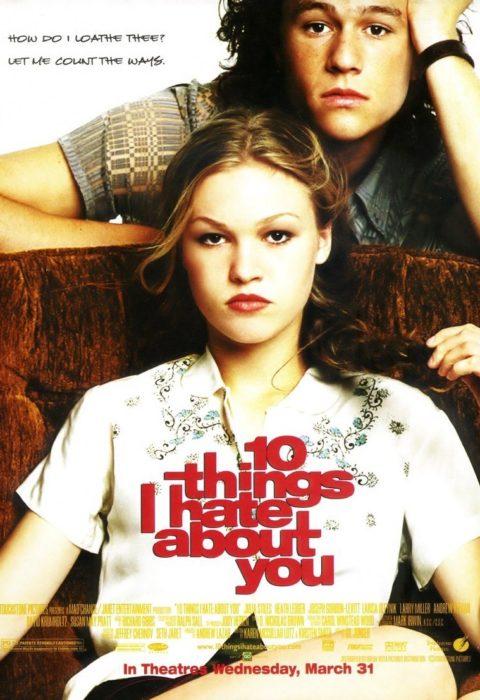 10 причин моей ненависти (10 Things I Hate About You), 1999