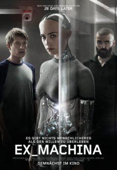 Постер к фильму – Из машины (Ex Machina), 2015
