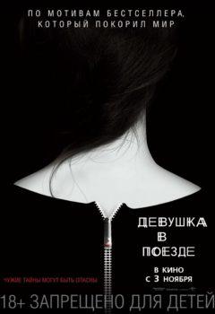 Постер к фильму – Девушка в поезде (The Girl on the Train), 2016