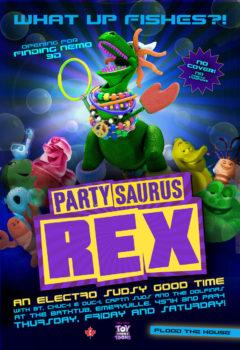 Веселозавр Рекс (Partysaurus Rex), 2012