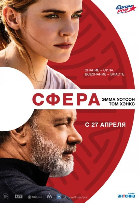 Сфера (The Circle), 2017