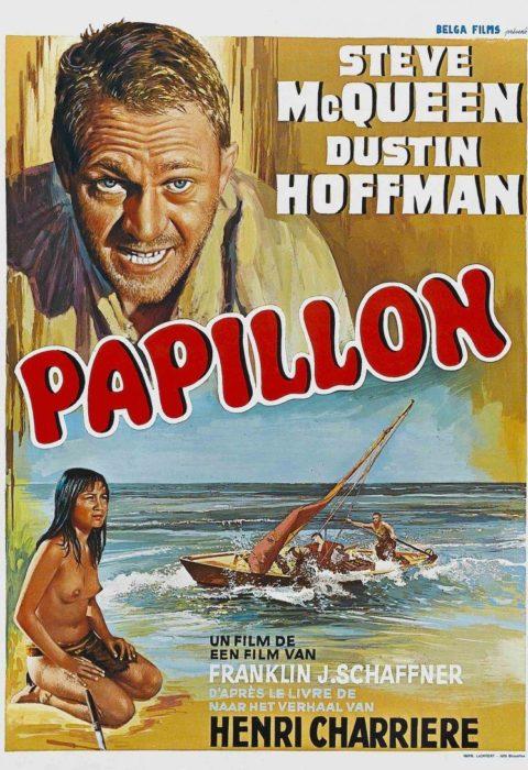 Мотылек (Papillon), 1973