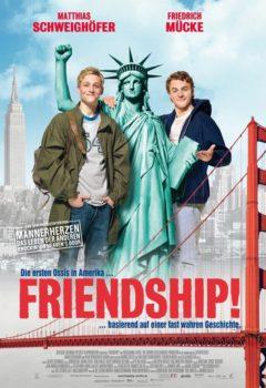 Постер к фильму – Том и Вайт уделывают Америку / Дружба! (Friendship!), 2009